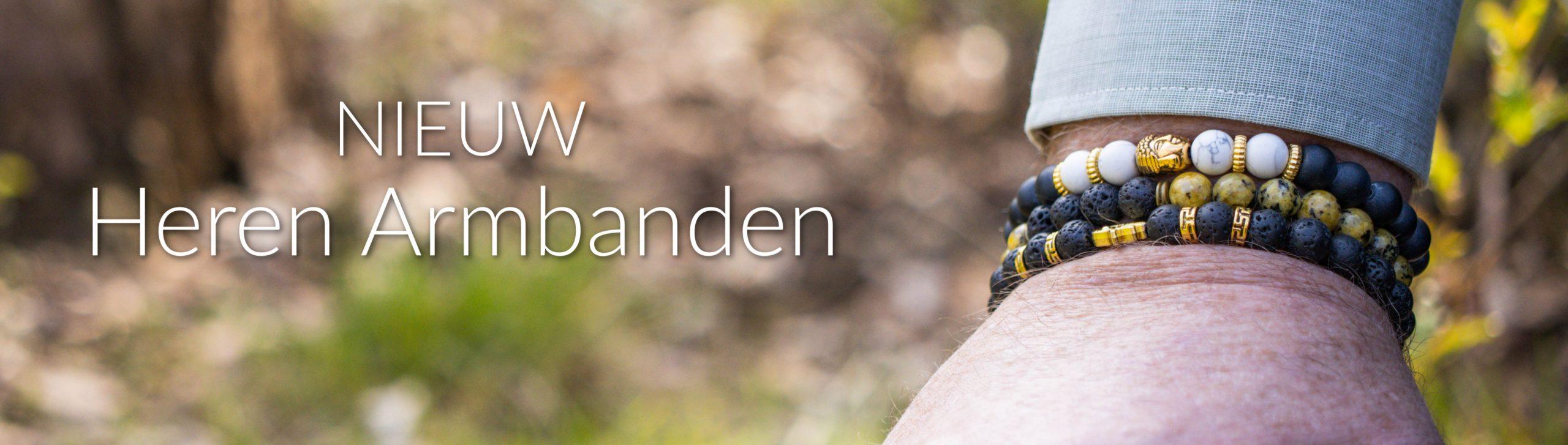 Heren Armbanden - banner